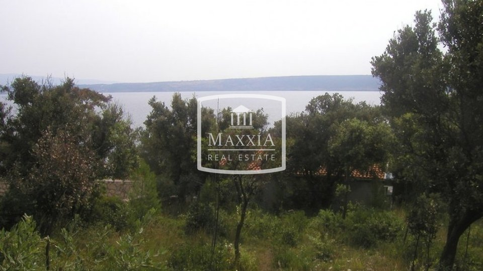 Posedarje - building land of 806m2, second row to the sea! 90000€